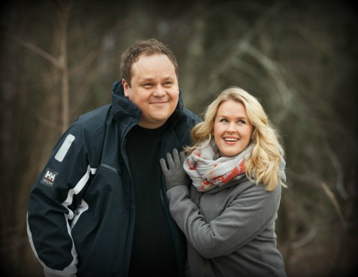Hannah och Jukka ute